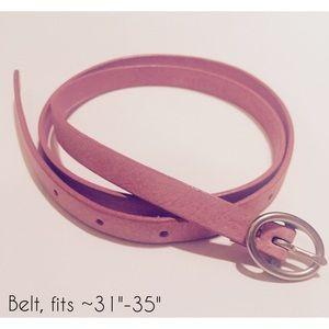 [Banana Republic] women's belt - dusty rose (pink)